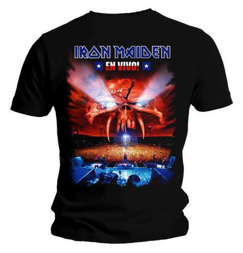 Official-T-Shirt-IRON-MAIDEN-Stage-EN-VIVO-Album-Eddie-All-Sizes
