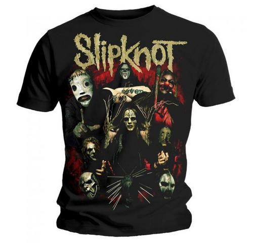 Official-T-Shirt-SLIPKNOT-Band-COME-PLAY-DYING-Metal-All-Sizes