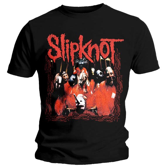 Official T Shirt SLIPKNOT Corey Joey BAND FRAME New