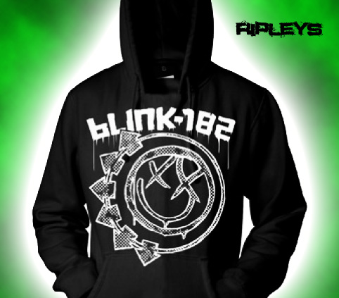 Official-BLINK-182-Hoody-Hoodie-Logo-STAMP-Smiley-All-Sizes