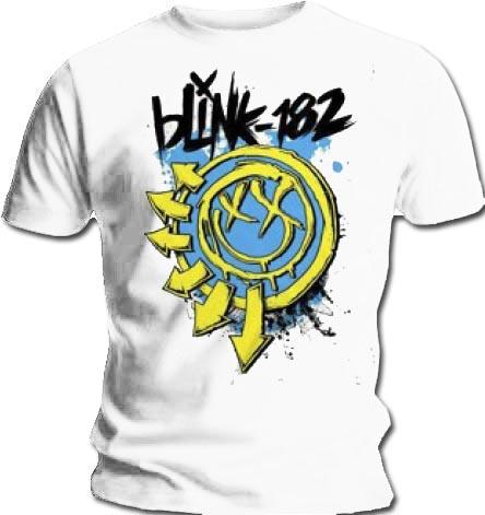 Official-T-Shirt-BLINK-182-Logo-WHITE-SMILEY-2-0-All-Sizes