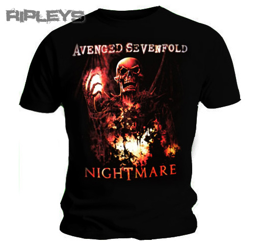 Official TShirt AVENGED SEVENFOLD Nightmare INNER RAGE
