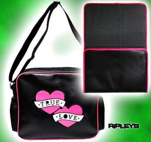 SOURPUSS Baby Nappy DIAPER BAG Handbag PVC TRUE LOVE Preview