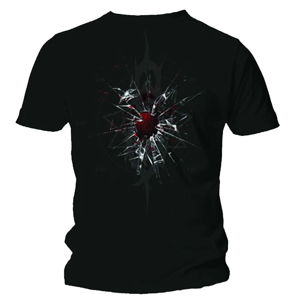 Official-T-Shirt-SLIPKNOT-Corey-SHATTER-GLASS-Band