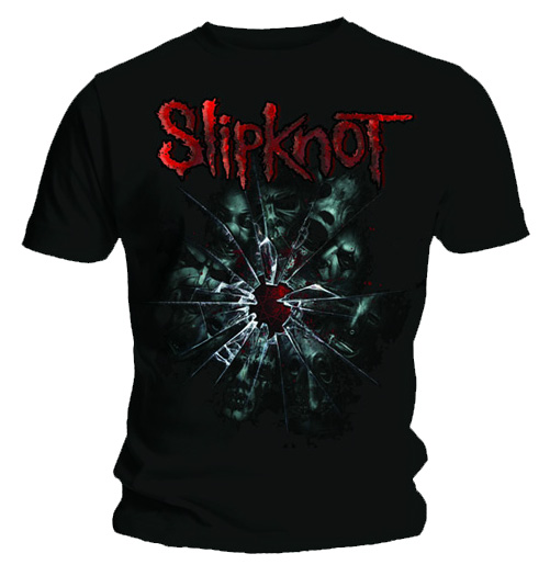 Official T Shirt SLIPKNOT Corey SHATTER GLASS Band