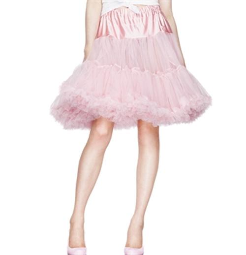 "HELL BUNNY 50s Skirt DOLLY PINK PETTICOAT 20"""