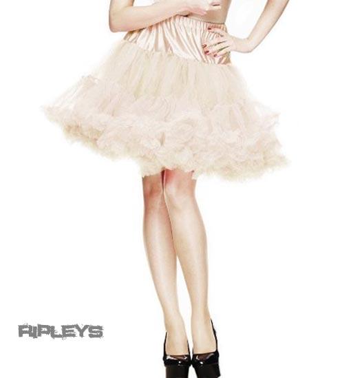 HELL-BUNNY-50s-Skirt-CREAM-Ivory-PETTICOAT-20