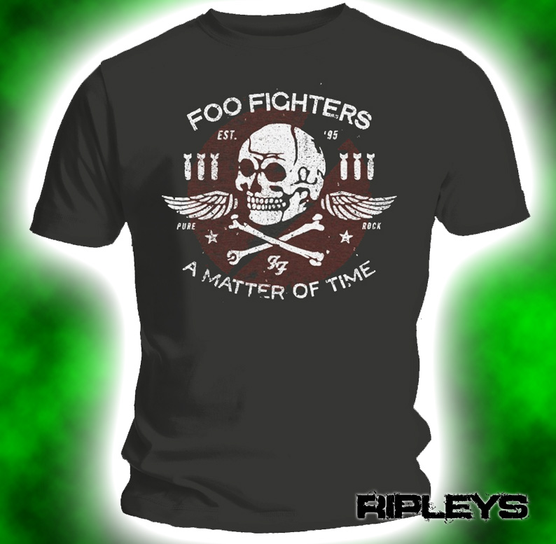 Official-T-Shirt-FOO-FIGHTERS-Grohl-MATTER-OF-TIME-All-Sizes