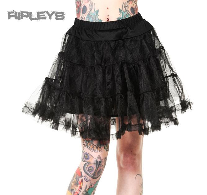 banned 50s dress rockabilly black petticoat skirt goth. Black Bedroom Furniture Sets. Home Design Ideas