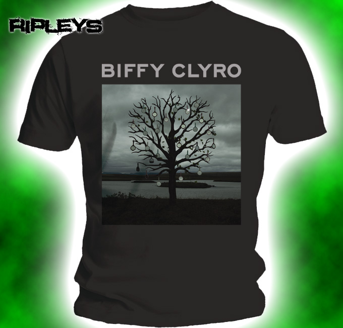 Official-T-shirt-BIFFY-CLYRO-Opposites-BLACK-CHANDELIER-Cover-All-Sizes