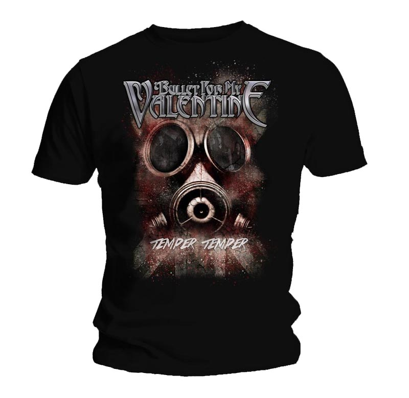 Official T Shirt BULLET for my VALENTINE Poison GAS MASK Temper All Sizes