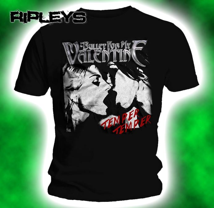 Official-T-Shirt-BULLET-for-my-VALENTINE-Poison-KISS-Temper-Temper-All-Sizes