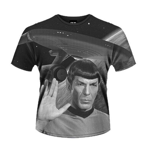 Camisa Star Trek vintage