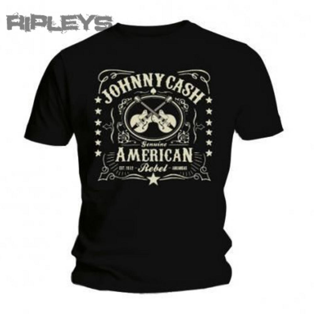 Official t shirt johnny cash vintage classic american for All american classic shirt