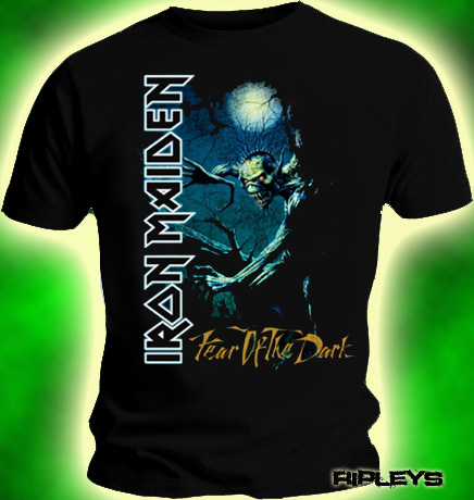Official-T-Shirt-IRON-MAIDEN-Fear-of-The-Dark-Tree