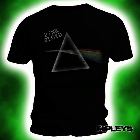 Official-T-Shirt-PINK-FLOYD-Black-DARK-SIDE-TOUR-Unisex