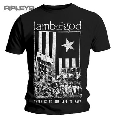 Official T Shirt LAMB OF GOD No One Left To Save All Sizes