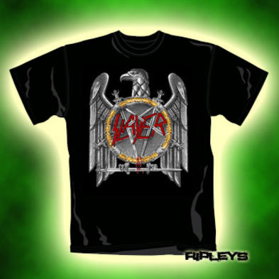 Official T Shirt SLAYER Evil EAGLE CLASSIC Metal XXL