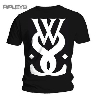 Official T Shirt WHILE SHE SLEEPS Black WWS LOGO All Sizes