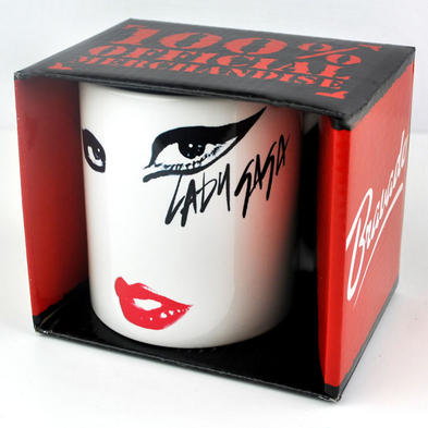 Official LADY GAGA Gift MUG Born This Way EYES LIPS