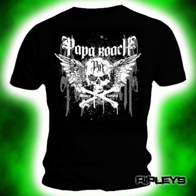 Official T Shirt PAPA ROACH Dripping Skull CROSSBONE XXL