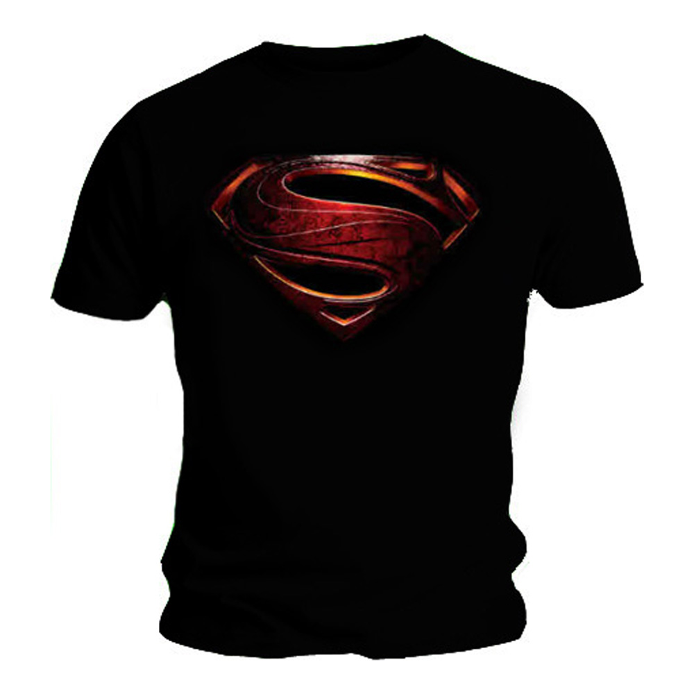 Official T Shirt SUPERMAN Logo MAN OF STEEL Movie All Sizes eBay