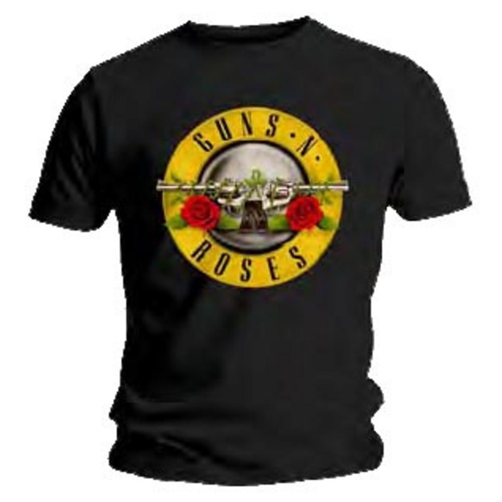 official t shirt guns n roses logo classic metal all sizes. Black Bedroom Furniture Sets. Home Design Ideas