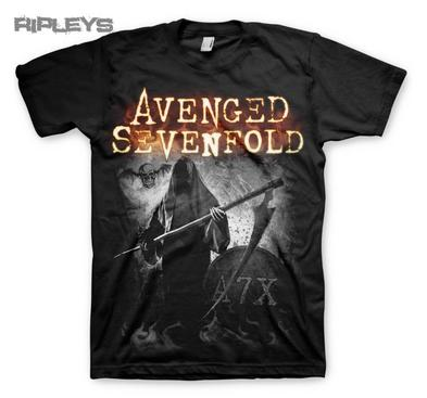 Official T Shirt AVENGED SEVENFOLD Hail to the King GRIMM A7X All Sizes