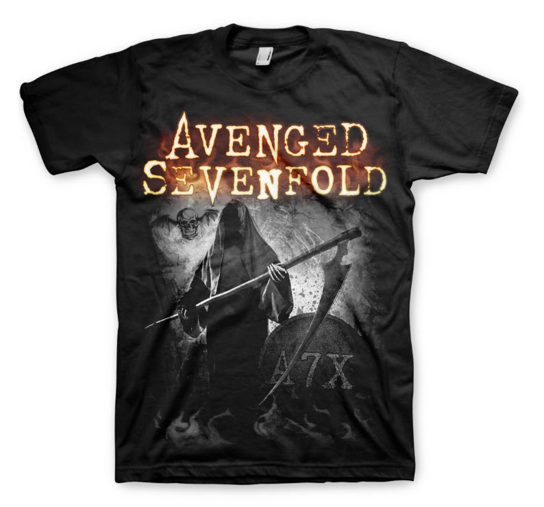 Official-T-Shirt-AVENGED-SEVENFOLD-Hail-to-the-King-GRIMM-A7X-All-Sizes