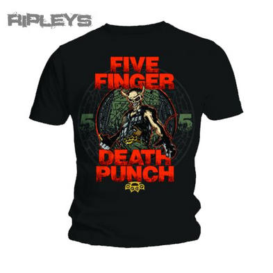 Official T Shirt FIVE FINGER DEATH PUNCH Seal Your Fate All Sizes