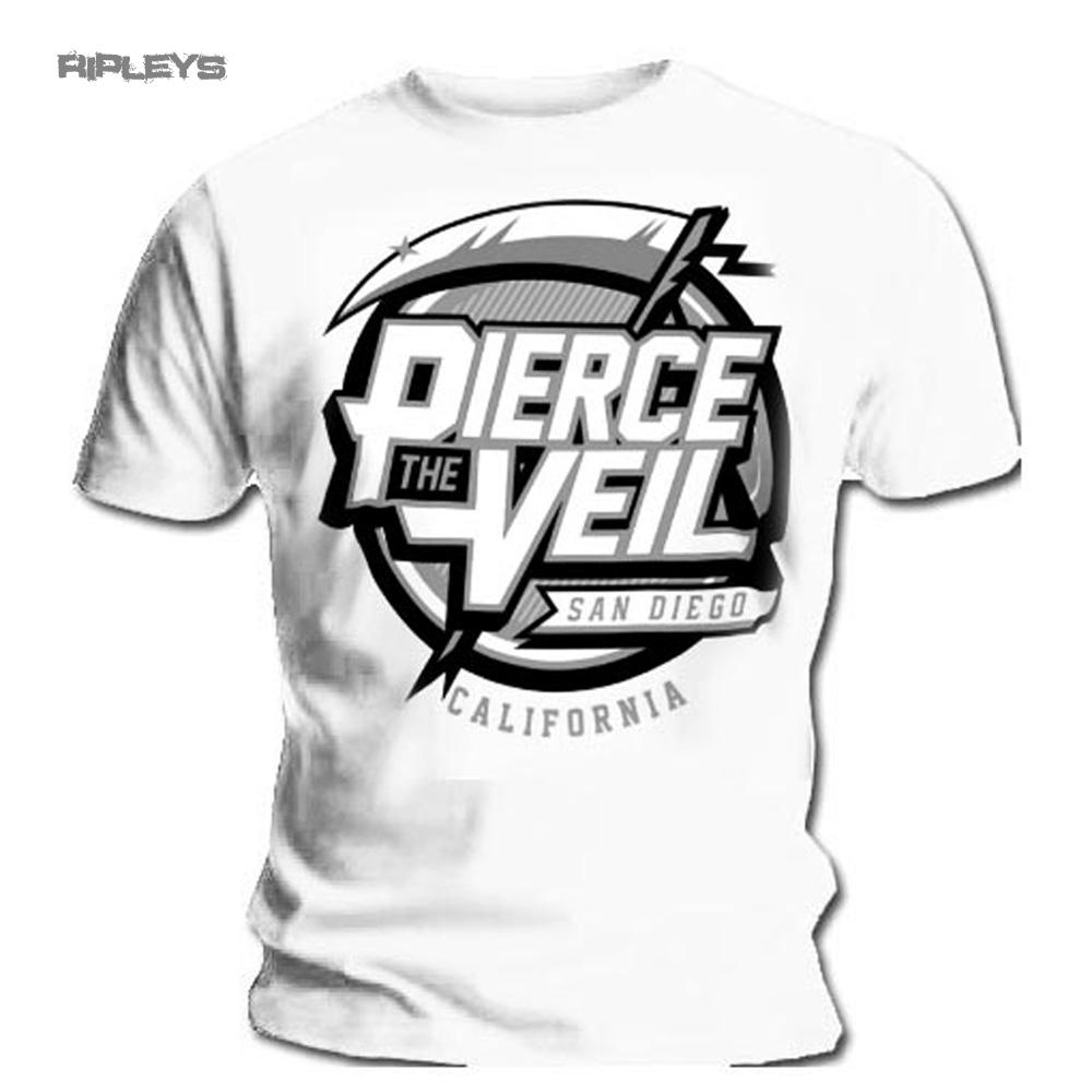 official t shirt pierce the veil selfish machines reaper
