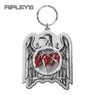 Official SLAYER Metal KEYCHAIN Keyring Eagle Logo Gift