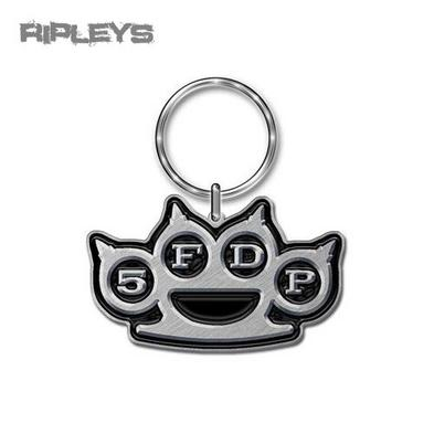 Official FIVE FINGER DEATH PUNCH Metal KEYCHAIN Keyring Knuckles Gift