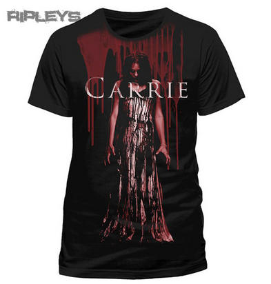 Official T Shirt CARRIE Stephen King BLOOD DRIPS Horror Movie All Sizes