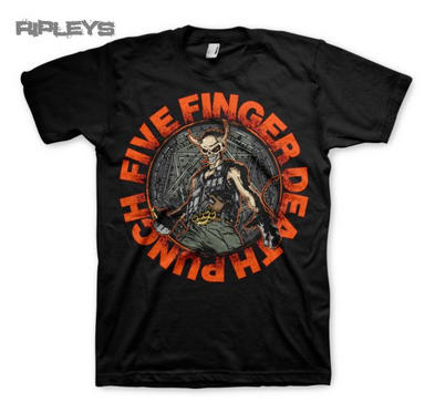 Official T Shirt FIVE FINGER DEATH PUNCH Seal of AMETH All Sizes