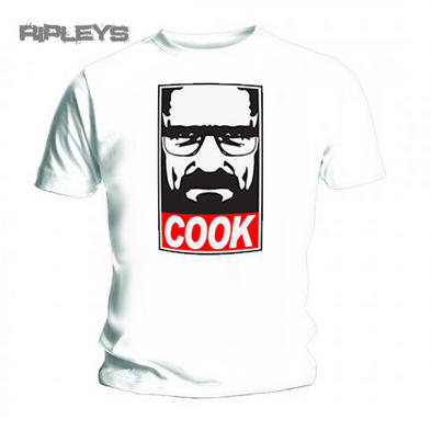 Official T Shirt BREAKING BAD Heisenberg COOK White All Sizes