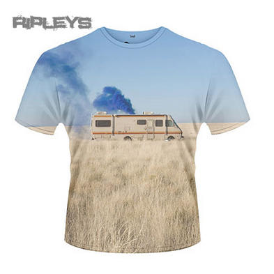 Official T Shirt BREAKING BAD Heisenberg TRAILER Van All Sizes
