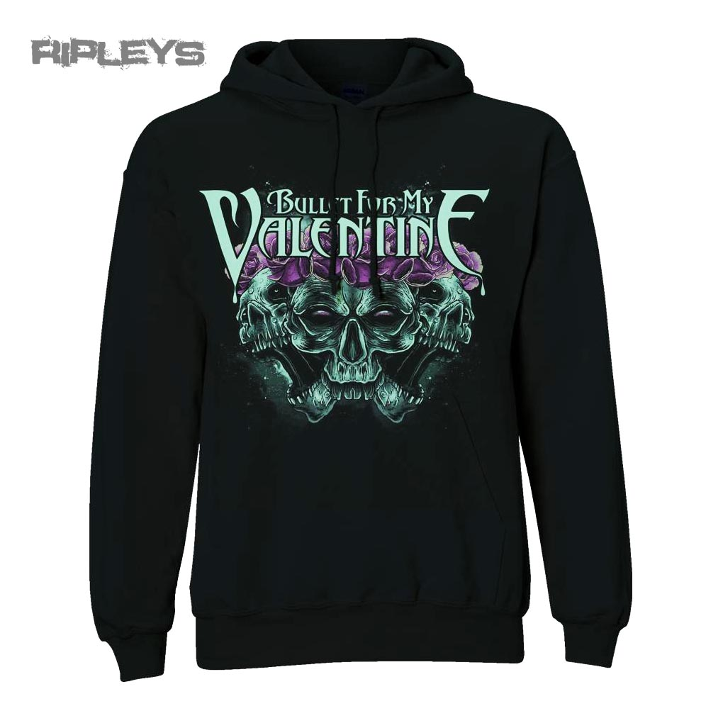 Official BULLET FOR MY VALENTINE Hoody Crown of Roses All Sizes