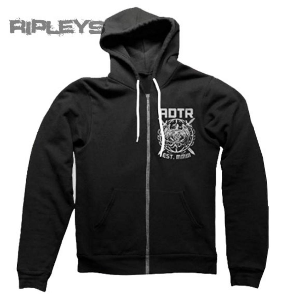 Official A DAY TO REMEMBER Black Hoody Hoodie PHOENIX Zip All Sizes