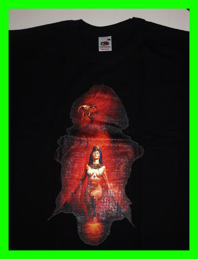 FANTASY T Shirt PHOENIX Woman Vallejo Egyptian/Goth S Preview