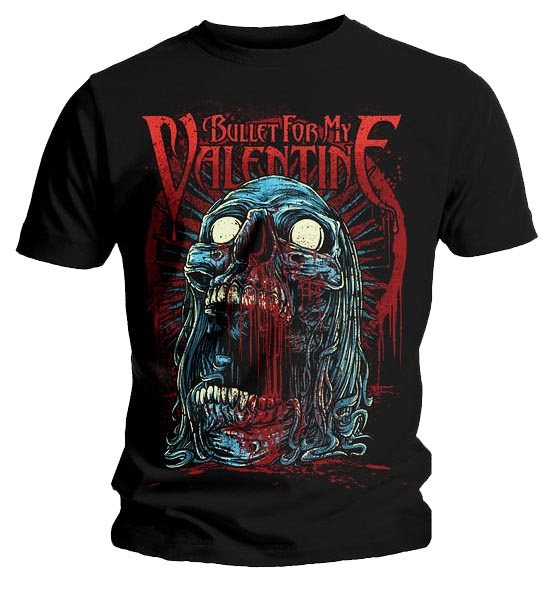 Official-T-Shirt-BULLET-for-my-VALENTINE-Skull-GRUESOME-All-Sizes