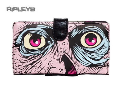IRON FIST Pink Zombie Horror Dance on your Grave Purse Wallet Goth