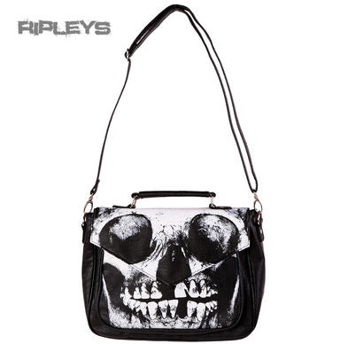 IRON FIST Ladies Handbag bag LOOSE TOOTH Purse Clutch Goth Skeleton