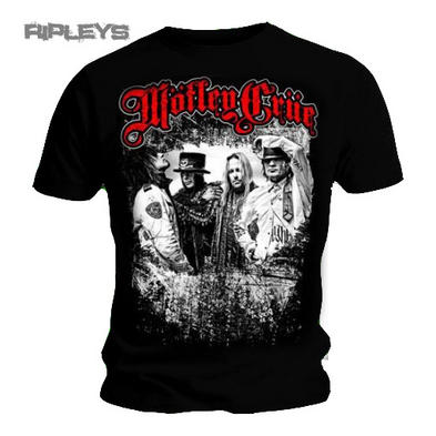 Official T Shirt MOTLEY CRUE Black GREATEST HITS Bandshot All sizes