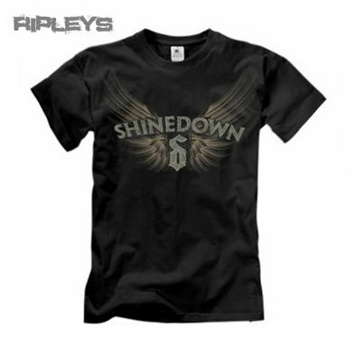 Official T Shirt SHINEDOWN Logo SKETCH Wings All Sizes