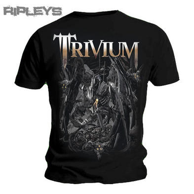Official T Shirt TRIVIUM Black BLOOD & DIRT & BONES Metal All Sizes