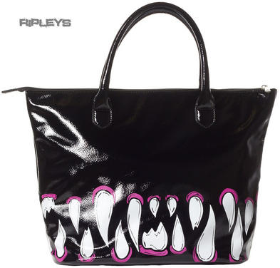 IRON FIST Ladies Handbag TIMMY CHEW Tote Goth Monster PVC