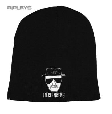 Official BREAKING BAD Beanie Hat HEISENBERG Sketch Black/White New