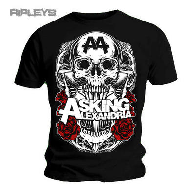 Official T Shirt ASKING ALEXANDRIA Death Destiny BLACK SHADOW All Sizes