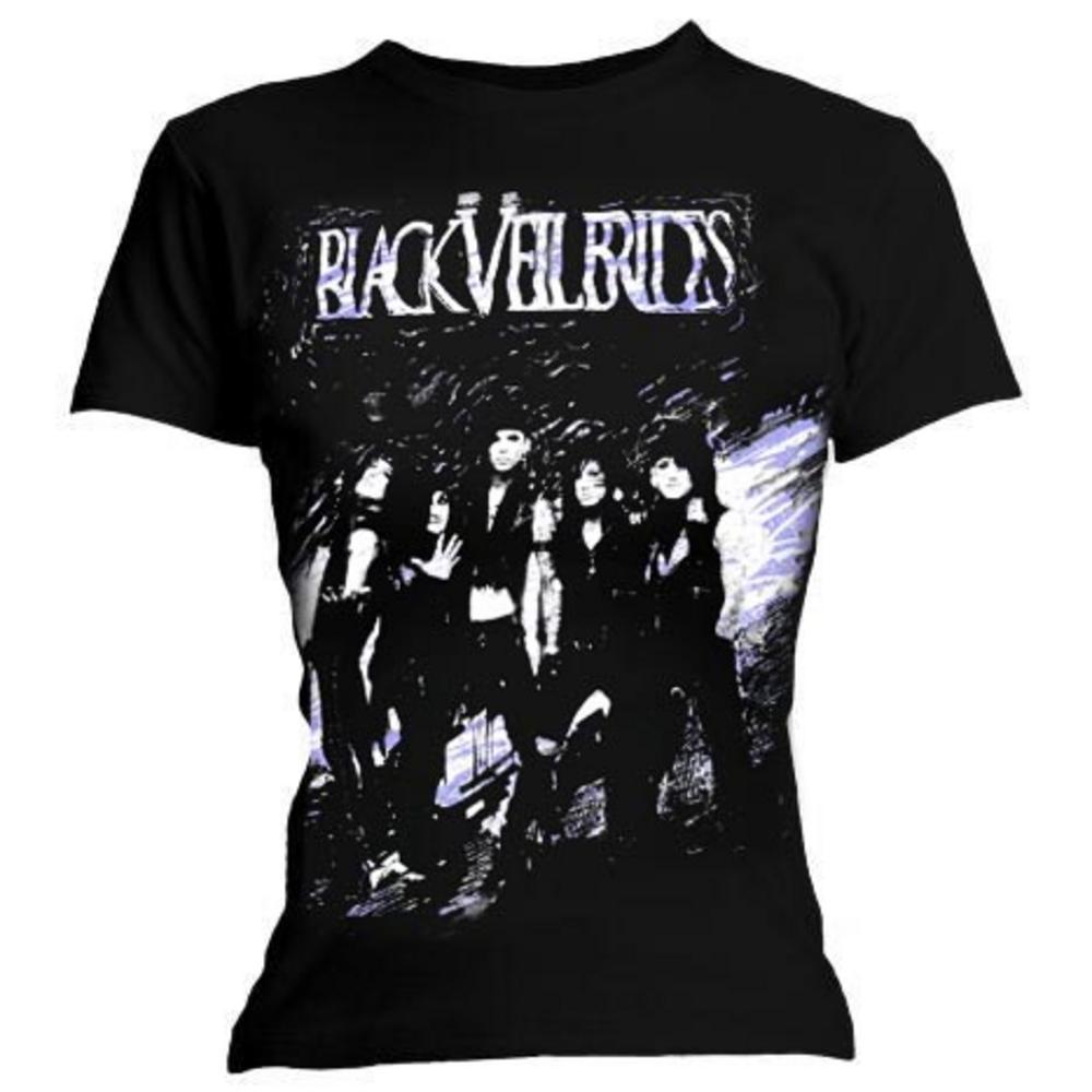 official ladies t shirt black veil brides band sloppy copy. Black Bedroom Furniture Sets. Home Design Ideas